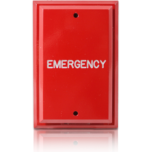 emergency door plate
