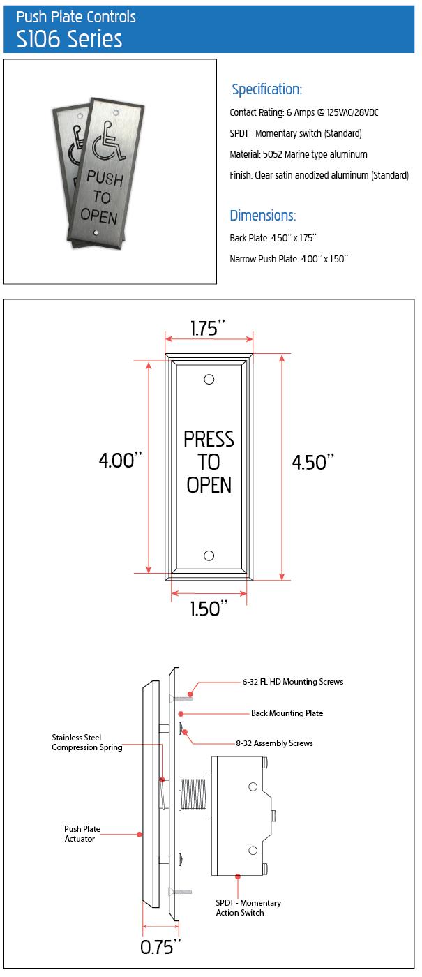 s106 spec sheet