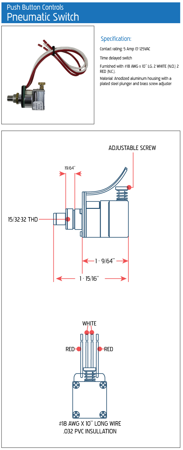 pneumatic switch specs