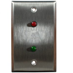 led door security