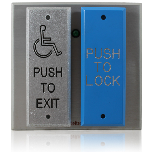 Door Security Push Plate