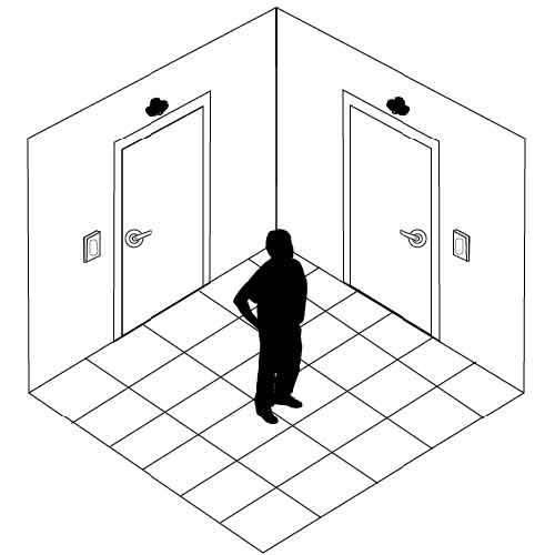 #901B 2 Door Interlock System  sc 1 st  DeltrexUSA & 2 Door Interlock System | DeltrexUSA Electronic Door Security Systems