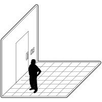 1 door access control