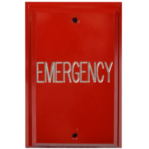 Emergency Push Plate